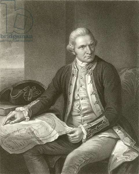 Captain James Cook (engraving)