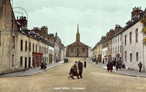 Main Street, Inveraray (colour photo)