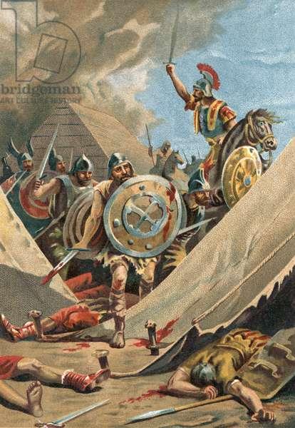 Viriathus in battle