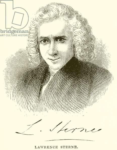 Lawrence Sterne (engraving)