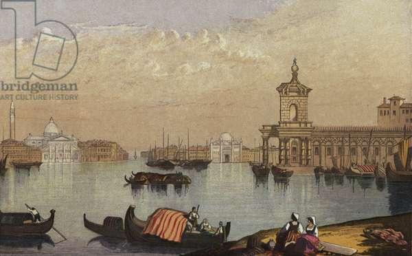 Venice (colour litho)
