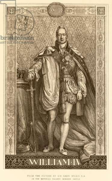 William IV (engraving)