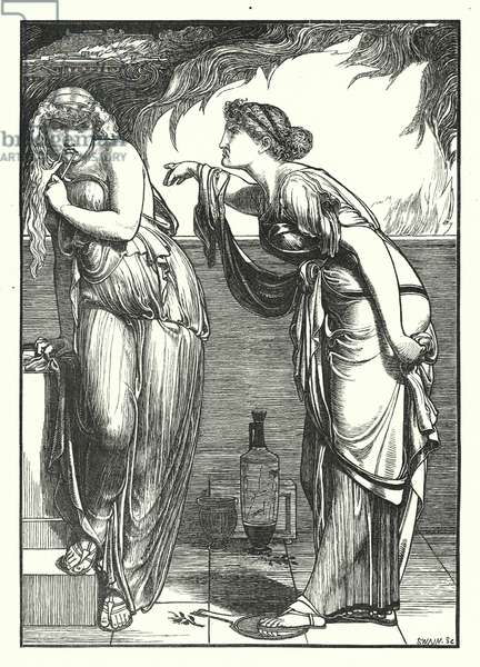 The Search of Ceres for Proserpine (engraving)