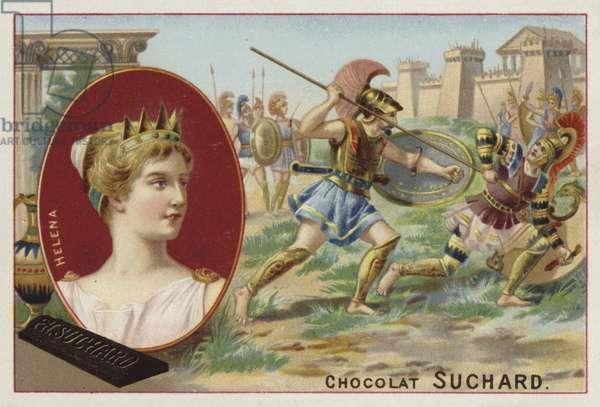 Helen of Troy (chromolitho)