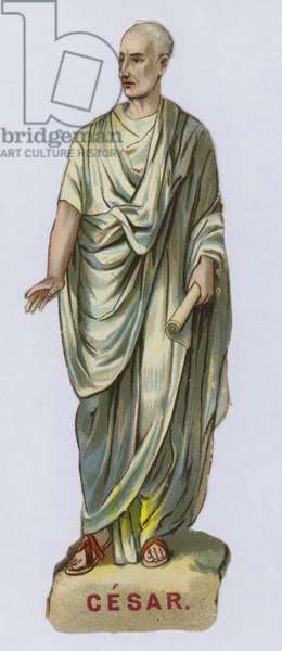 Julius Caesar (chromolitho)