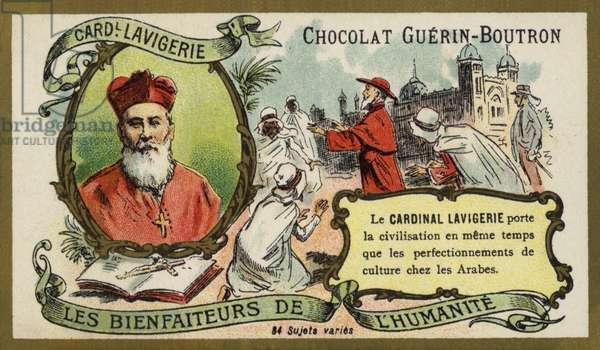 Cardinal Lavigerie, French Archbishop of Carthage and Algiers (chromolitho)