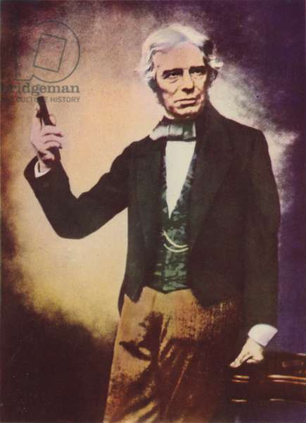 Michael Faraday (colour photo)