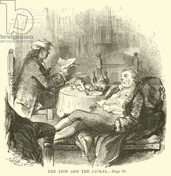Illustration for A Tale of Two Cities by Charles Dickens (engraving)