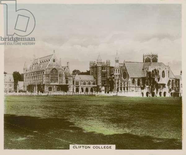 Clifton College (coloured photo)