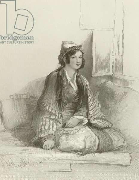 A Circassian Lady (engraving)