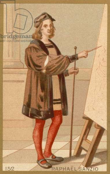 Raphael, Italian artist (chromolitho)