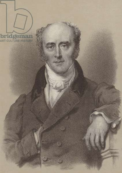 Charles, 2nd Earl Grey, British Prime Minister 1830-1834 (litho)