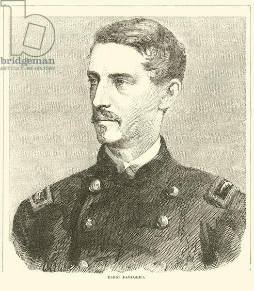 Ulric Dahlgren, November 1863 (engraving)