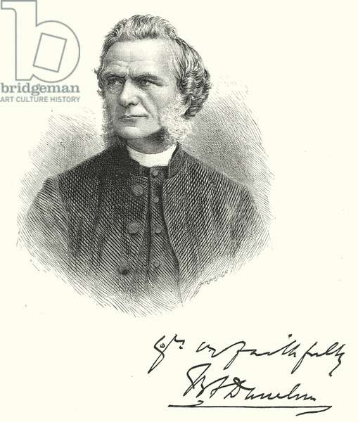 The Right Reverend Brooke Foss Westcott, DD (engraving)