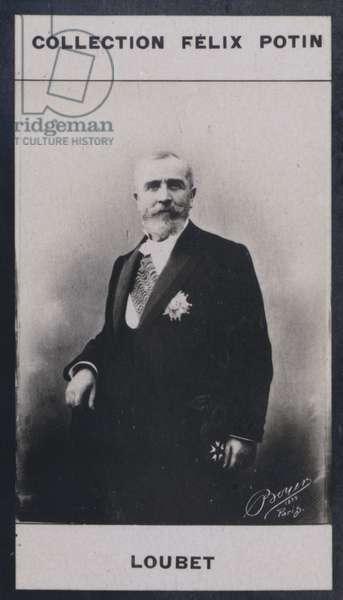 Emile Loubet (1838) (b/w photo)