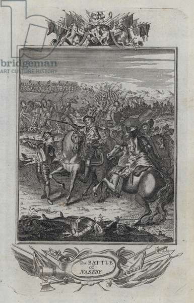 The Battle of Naseby (engraving)