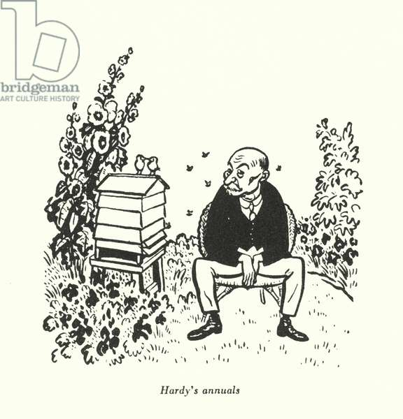 Hardy's annuals (litho)