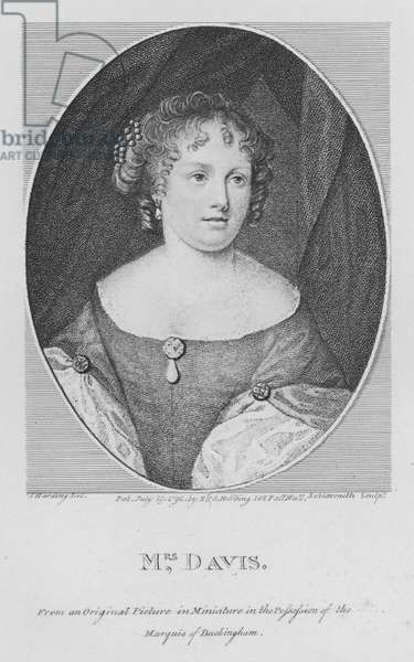 Mrs Davis (engraving)