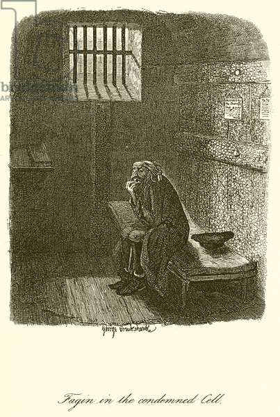 Fagin in the Condemned Cell (engraving)