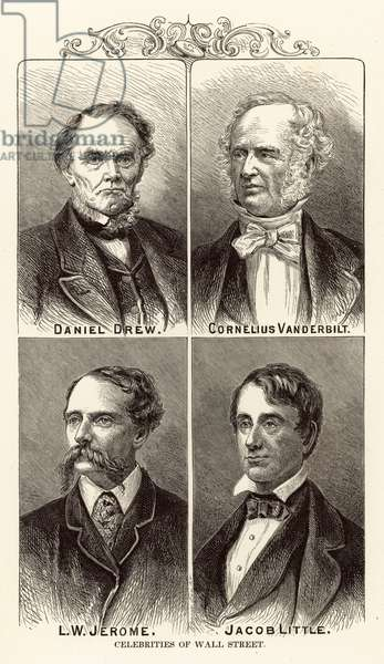 Celebrities of Wall Street (engraving)
