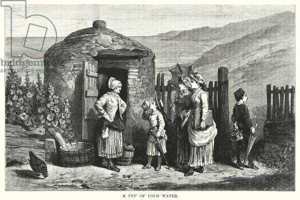 A Cup of Cold Water (engraving)