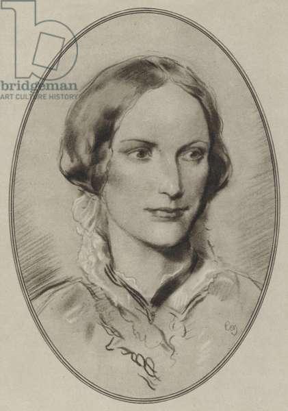 Charlotte Bronte (litho)