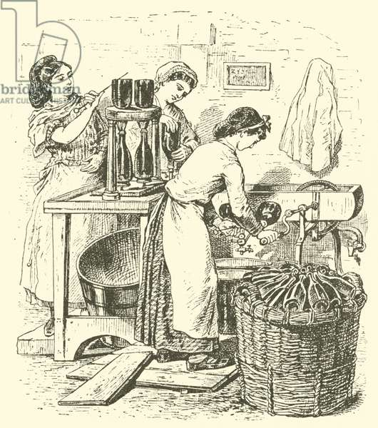Bottling Champagne (engraving)