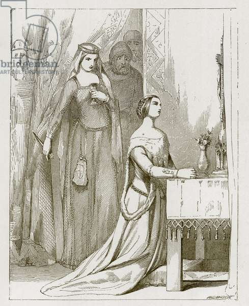 Fair Rosamond (engraving)