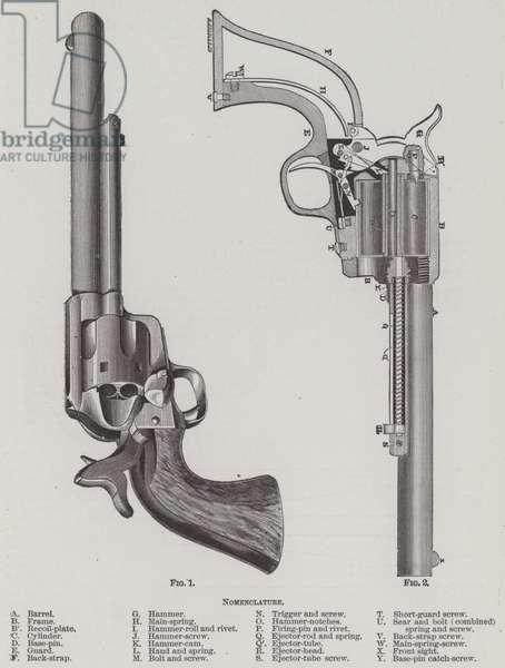 Colt Revolver (engraving)