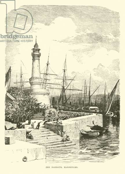 The Harbour, Marseilles (engraving)