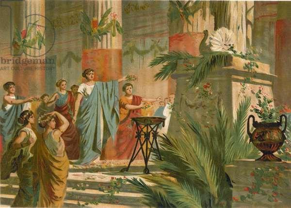 Festivities of Roman matrons
