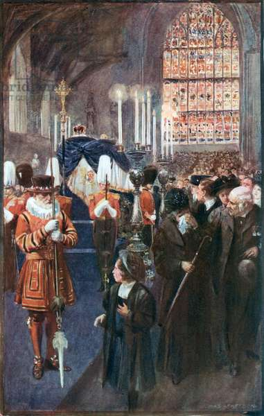 The Lying-in-State of King Edward VII