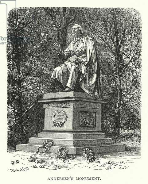 Andersen's Monument (engraving)