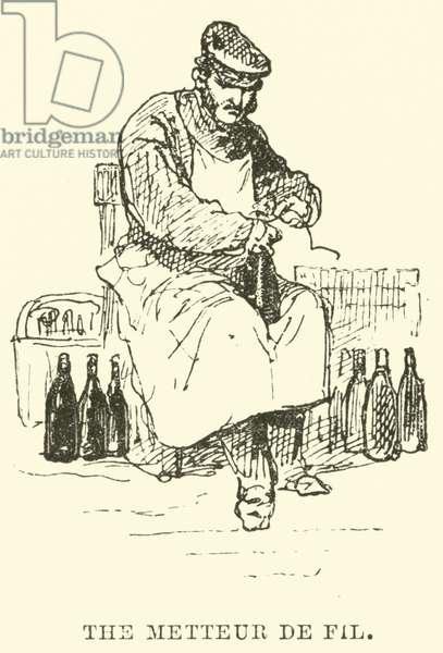The Metteur de Fil (engraving)