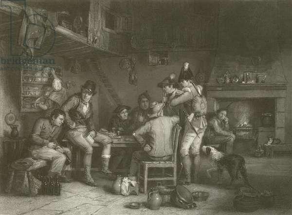 The Village Recruit (engraving)