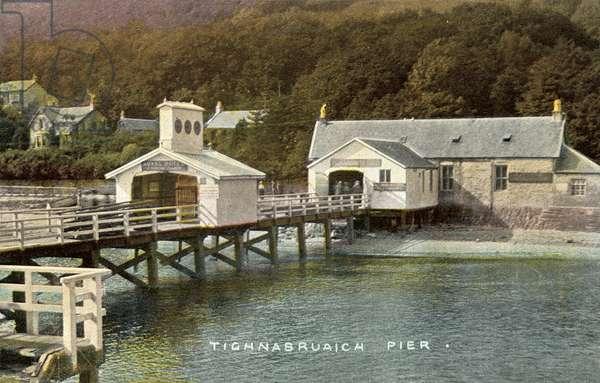 Tighnabruaich Pier (colour photo)