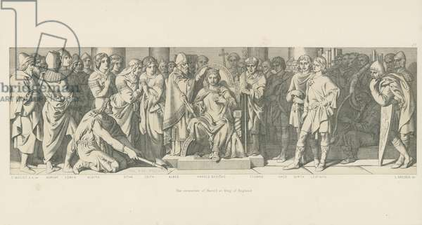 The Coronation of Harold as King of England