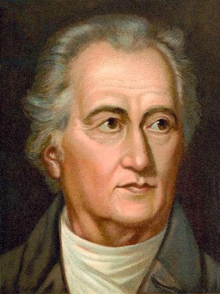 Johann Wolfgang von Goethe (chromolitho)
