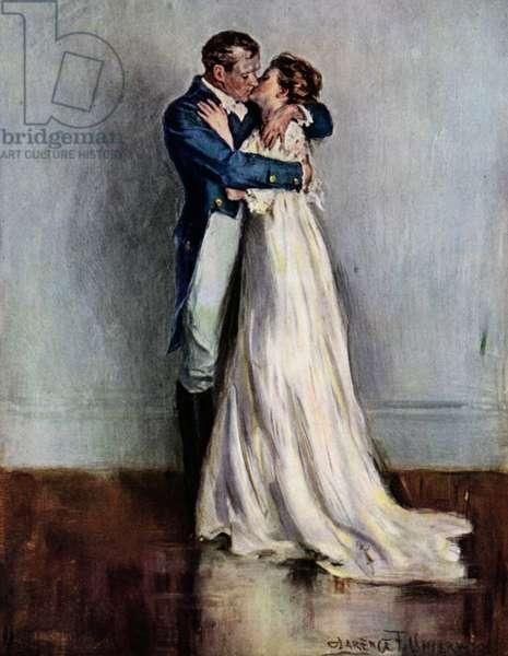 Ae Fond Kiss (colour litho)