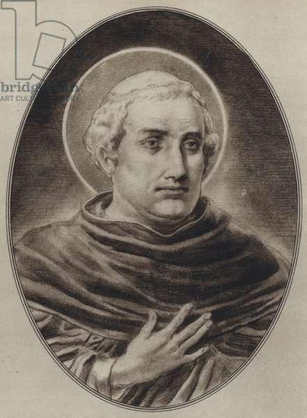 Portraits of Great Philosophers: Aquinas (litho)