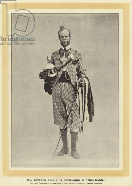 "Mr Edward Terry; a Reminiscence of ""King Kodak"" (b/w photo)"