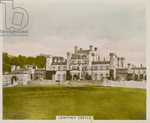 Lowther Castle (coloured photo)