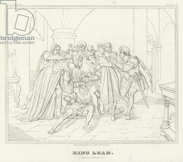 King Lear, Act III, Scene 7 (engraving)