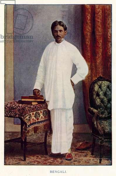 Indian Natives: Bengali (coloured photo)