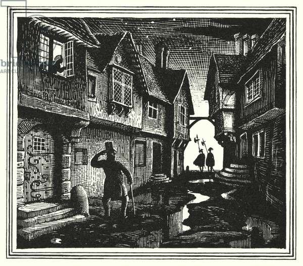 Hans Christian Andersen: The Galoshes Of Fortune (litho)