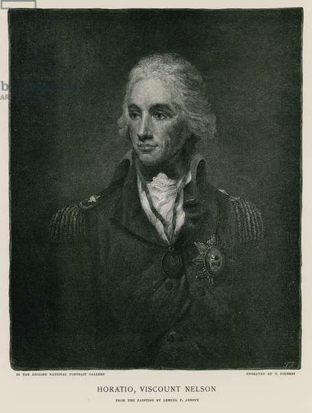 Horatio, Viscount Nelson (engraving)