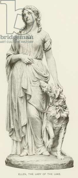 Ellen, the Lady of the Lake (engraving)