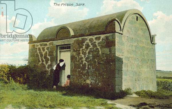 The Prison, Sark, Channel Islands (colour photo)