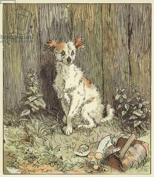 An Elegy On The Death Of A Mad Dog (colour litho)