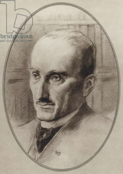 Portraits of Great Philosophers: Bergson (litho)